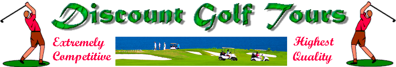 Discount Golf Tours and Vacation Packages
